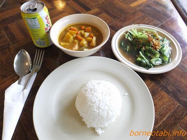 ムル食事 2012.2.13 昼