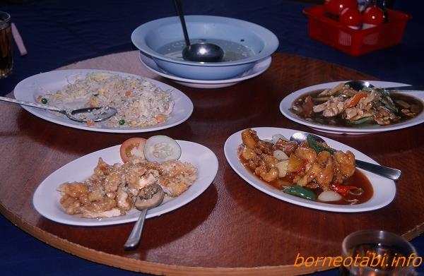 中華食堂の料理