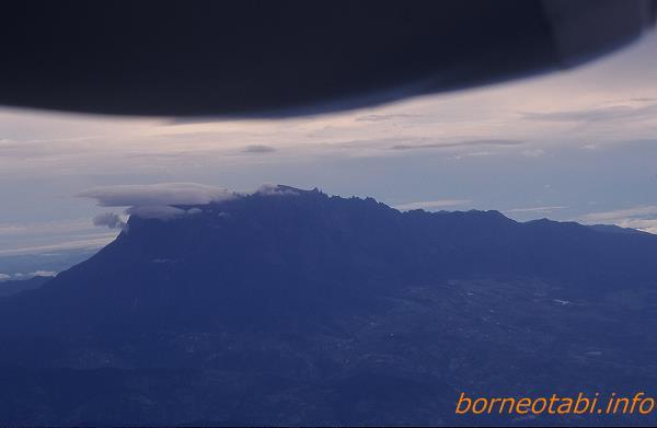 キナバル山 1998年12月