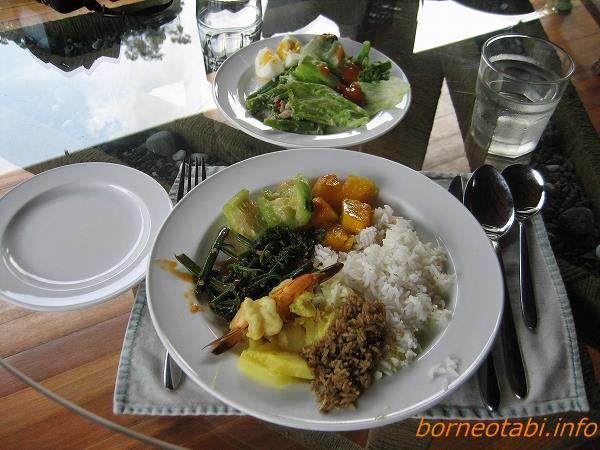 ダナンバレーの食事 2012.6.30昼