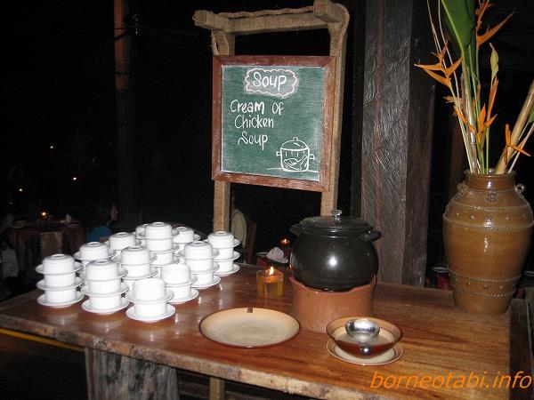 ダナンバレーの食事 スープ 2012.7.2