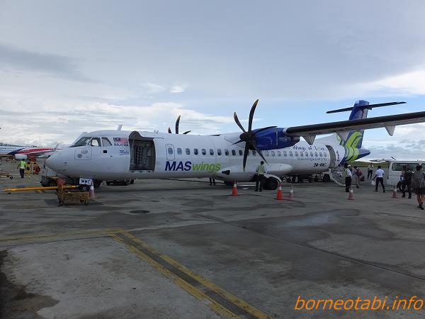 マスウィング 2014.2.11 コタキナバル空港