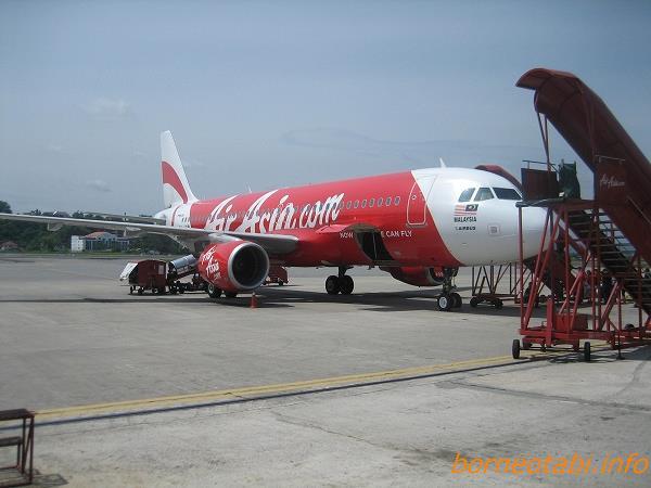 エアアジア飛行機 2012.7.28 クアラルンプール空港