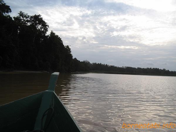 ボートに乗って 2005.2.6 スカウ