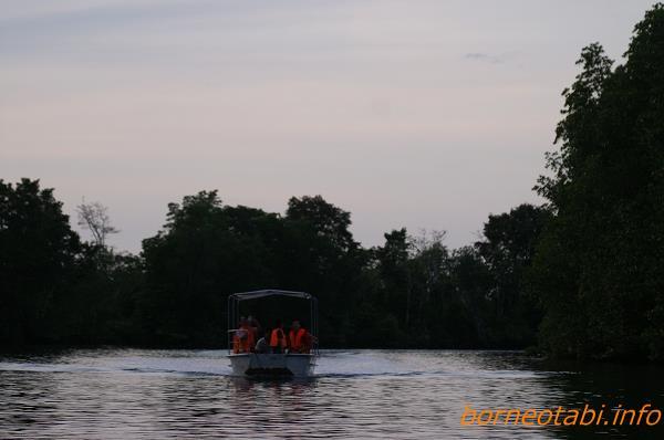 ボートクルーズ 2006.11.23 クリアス川