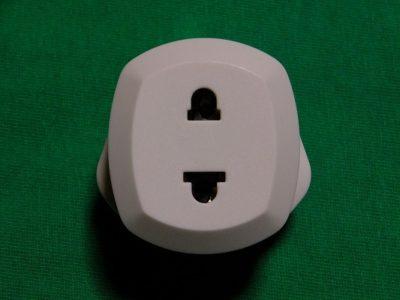 電源プラグ BFタイプ 日本のプラグを差す穴