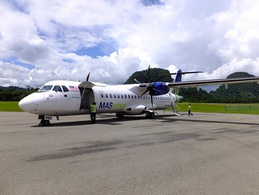ATR72-500 MASwings 2017.2.16 ムル空港