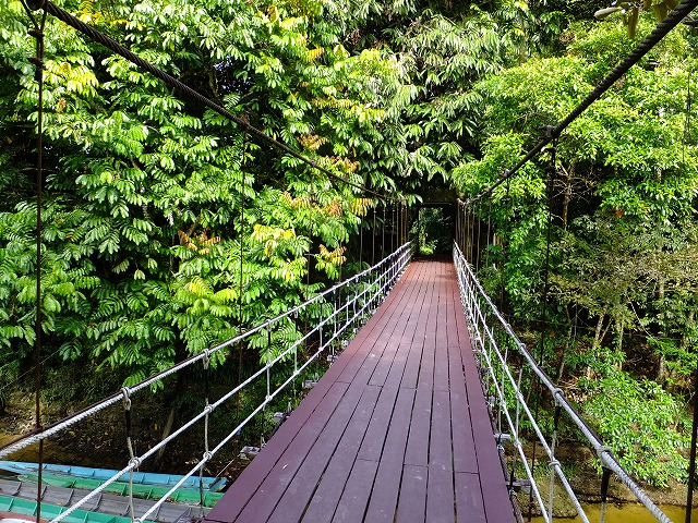 グヌンムル国立公園ゲートブリッジ